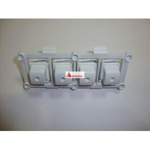 Boton pulsadores TL2800/1000 4BOT (CUADRADOS)