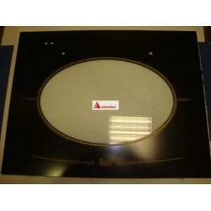 Cristal puerta HR600 negro