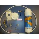 Conjunto sistema de filtrado de agua para grifos