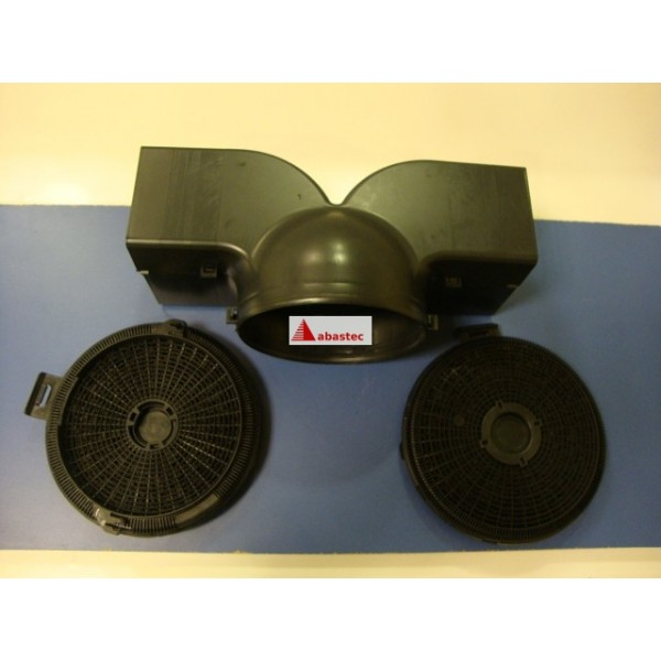 Kit de recirculacion campanas opcional servicio oficial - Campanas extractoras de recirculacion ...