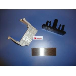 Conjunto palanca-pulsador y embellecedor MWE205G
