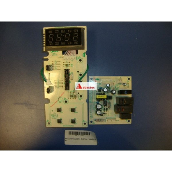 Programador digital mwe205fi servicio oficial repuestos for Programador electrico digital