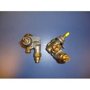 Grifo de gas con seguridad (SABAF15)