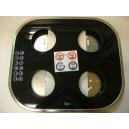 Conjunto vidrio y carcasa CG.1 4G inox