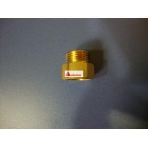 Tuerca para acople tubo flexible actual (adaptador)