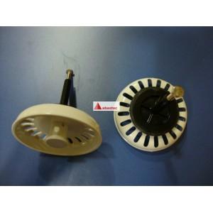 Tapon tekadur blanco automatico (7.5cm diametro) y tornillo *obsoleto*