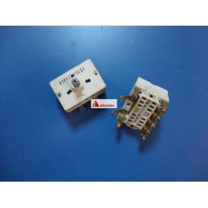 Conmutador 7 posiciones VT 2p E1011 (con tornillos)