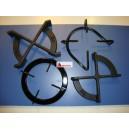 Parrillas individuales Cristalgas/ES60/Rusticas/Expresion