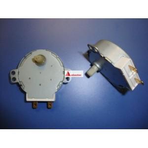 Motor giraplatos microondas basicos (eje 100mm alto - 1/2 luna)
