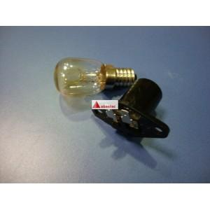 Lampara 15w y portalamparas microondas (otros modelos, terminal plano)