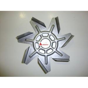 Aspa de motor turbo de horno