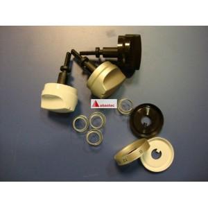 Conjunto de 4 mandos S2K para Panel control o horno ME