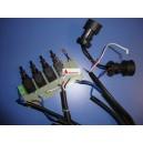 Conjunto de mandos campanas DB1/DG (Para motores grises)