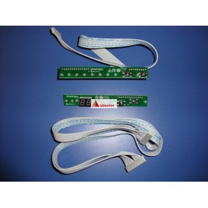 Pulsadores y display lavavajillas DW6 42/58 FI (tarjeta de mandos)