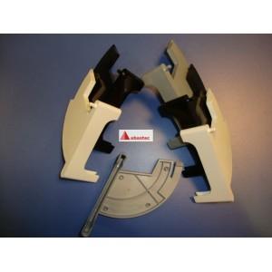 Junquillo lateral de cristal (juego) C610/C620/CS6000