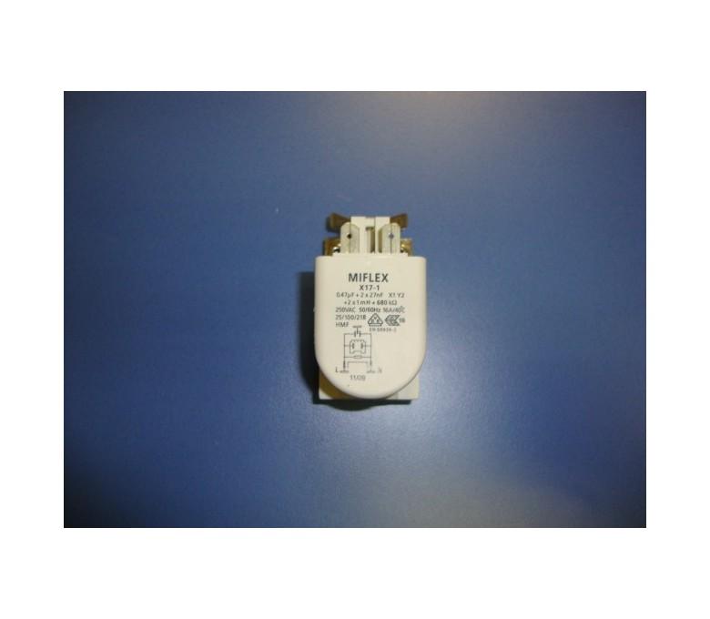 Filtro antiparasitario de corriente lavadora TKL1000