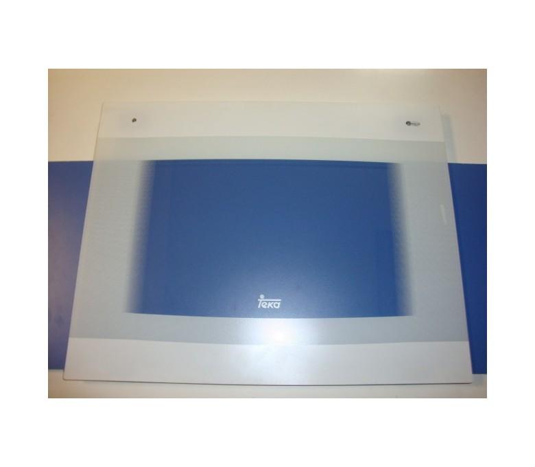 Cristal puerta horno HC610 blanco vr03