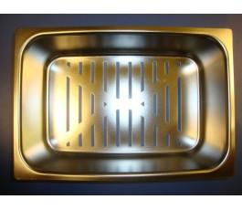 Cesta colador inox 18x27cm radio 25cm