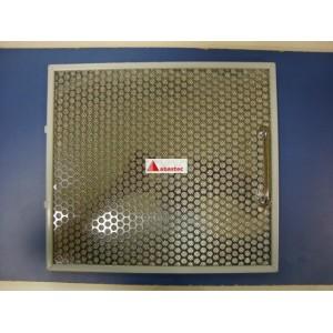 Filtro metálico INOX con tirador y pestaña trasera 29x32