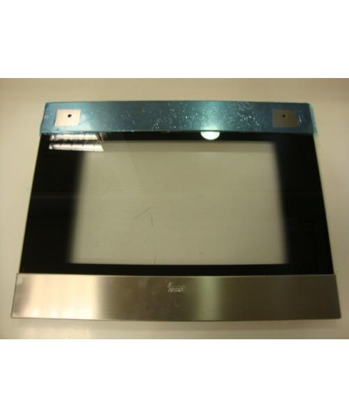 Cristal puerta horno exterior HI615 Inox