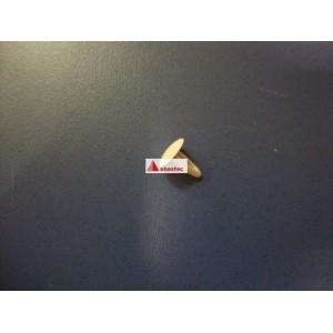Clip placa luz CNL2002 blanco