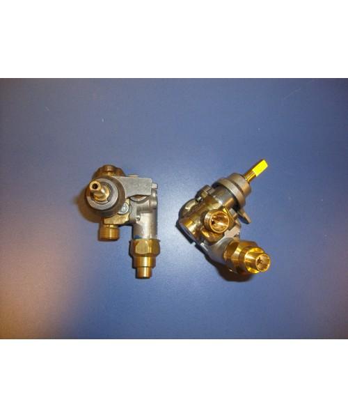 Grifo de gas con seguridad (SABAF)