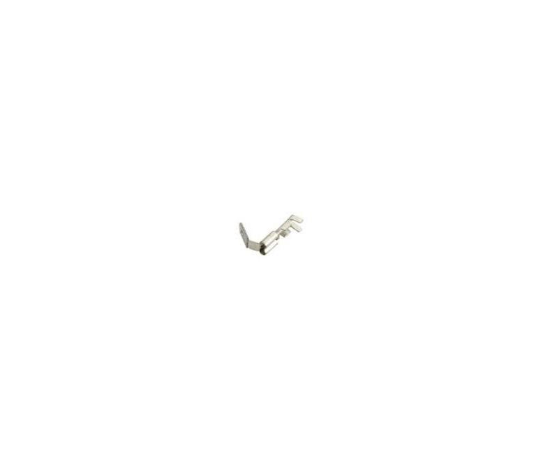 Terminal faston macho y hembra 6.3mm