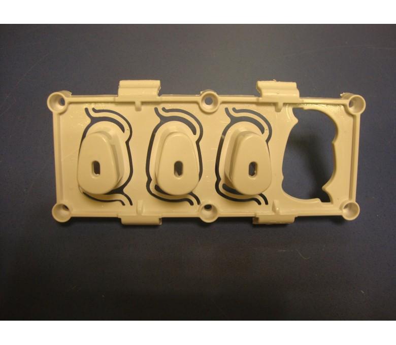 Teclado TKX1600T 3 teclas (forma de gota)