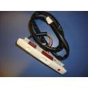 Conjunto interruptores campana C610/620 blanco/negro
