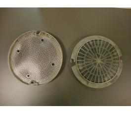 Filtro carbon decorativas antiguas (motor metalico)