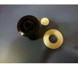 Boton bomba neumatico interruptor triturador