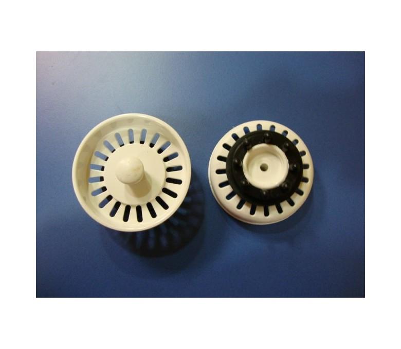 Tapon v/99 blanco normal (8cm diametro sin eje)