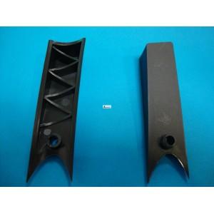 Cacha tirador izquierda gris oscuro HC610 vr01