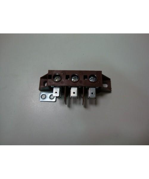 Regleta conexiones VTTC60 3 polos (sustituye anterior)