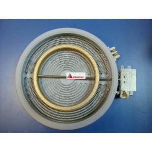 Placa electrica Vitro XXXmm(diametro util) DOBLE o TRIPLE xxxxW(potencia)