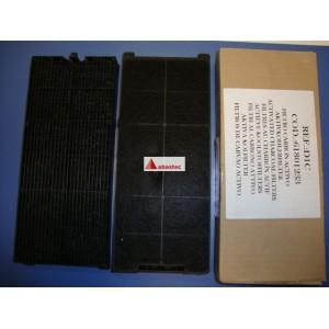 Filtro carbon decorativas con kit de recirculacion cuadrados