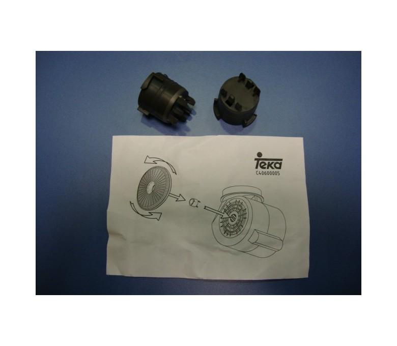 Adaptador filtro carbon decorativo (2005hasta2009)