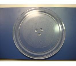 Bandeja de vidrio redonda MW 32 BIS 32cm (Nueva)