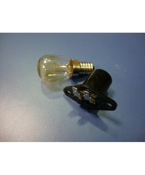 Lampara y portalamparas microondas (otros modelos)