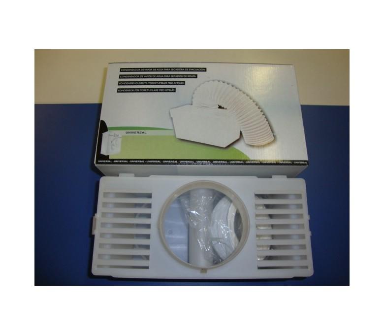 Kit caja evacuacion vapor secadoras (recipiente agua)