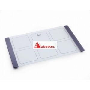 Tabla de cortar vidrio fregadero Cuadro esquina 300x390mm