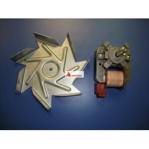 Motor turbo y aspa hornos 60 HC/HI/HR/HA