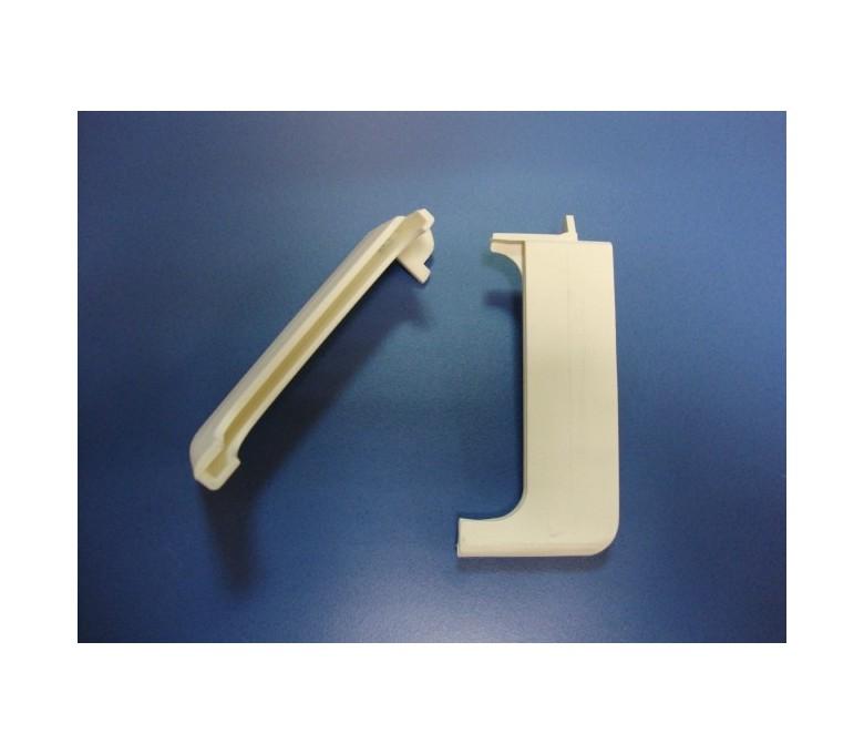 Junquillo cristal campana TUB60 blanco (juego)