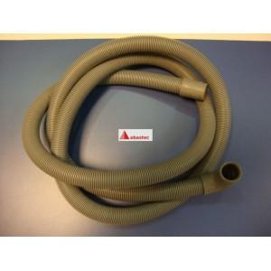Tubo desague lavavajillas 1,5mt (codo 90º) boca 20mm