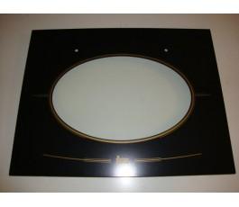 Cristal puerta horno HR800 Vr04 anclado Negro