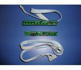 Pulsadores y display lavavajillas DW658FI (tarjeta de mandos)